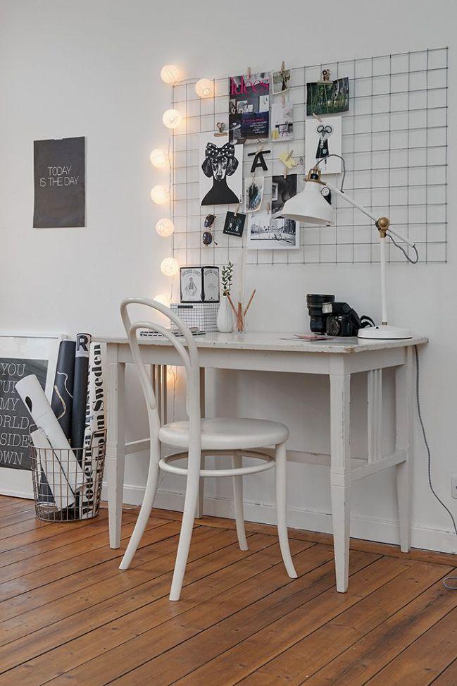 Powr t do szko y 12 pomys w na tablic nad biurkiem for Schreibtisch quadro