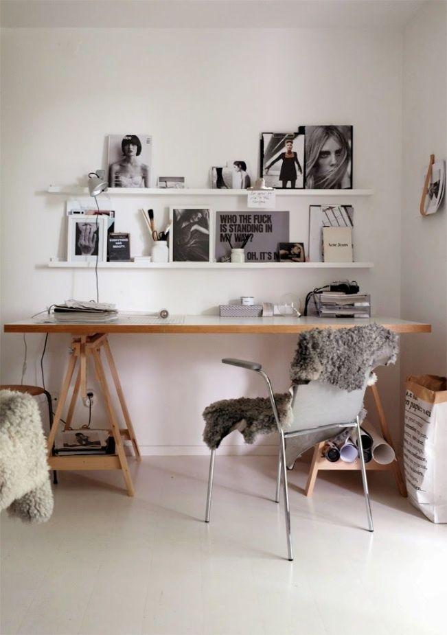 Powr t do szko y 12 pomys w na tablic nad biurkiem for Schreibtisch tumblr
