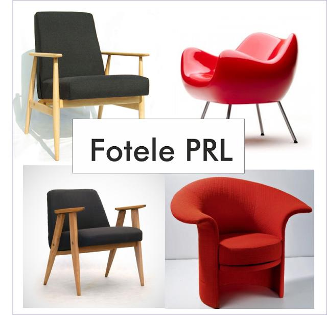fotele z PRL