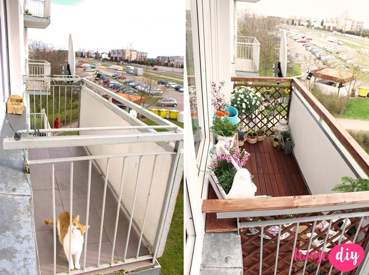akcja balkon 10 metamorfoz balkon w polskich blogerek. Black Bedroom Furniture Sets. Home Design Ideas