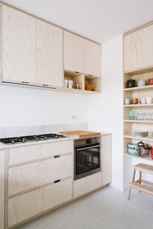 Trendy sklejka for Small house design made of plywood