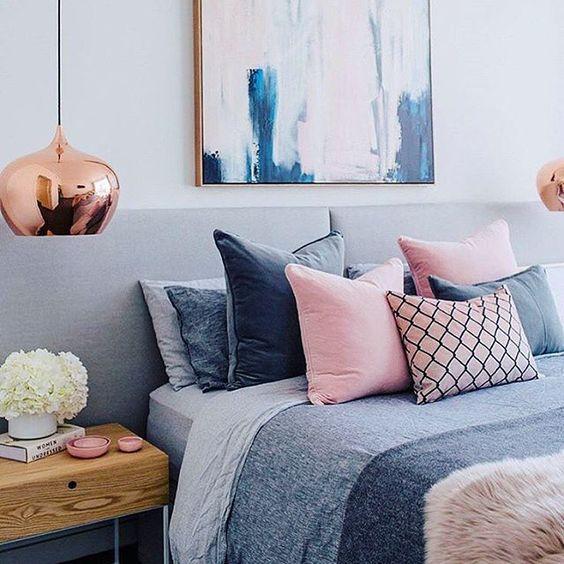 Copper And Grey Bedroom Ideas: TYDZIEŃ PASTELOWO RÓŻOWY: Co łączyć Z Różem? 10