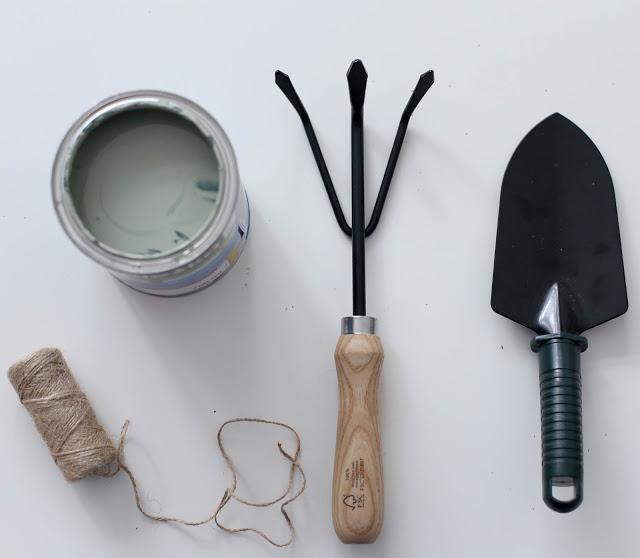 Narzędzia ogrodnicze DIY